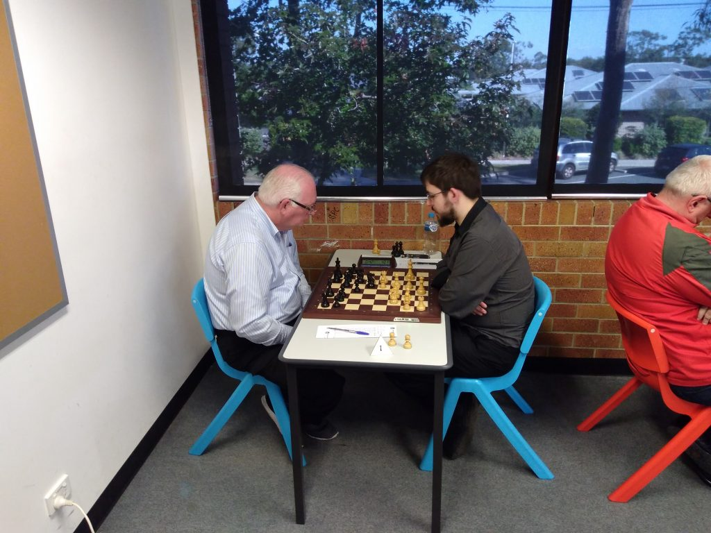 Max Kershaw v GM Max Illingworth