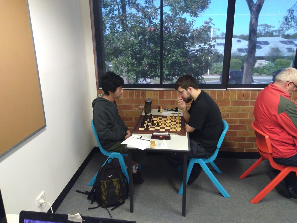 GM Max Illingworth v FM Gene Nakauchi