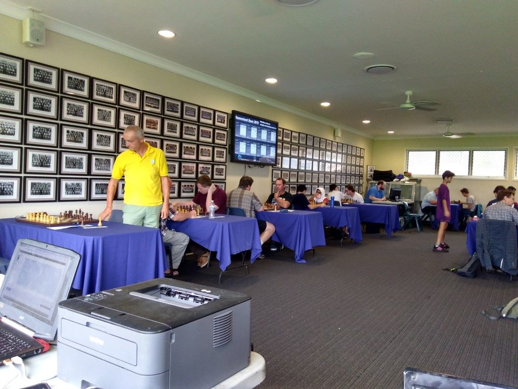QLD Open Round 6 Results