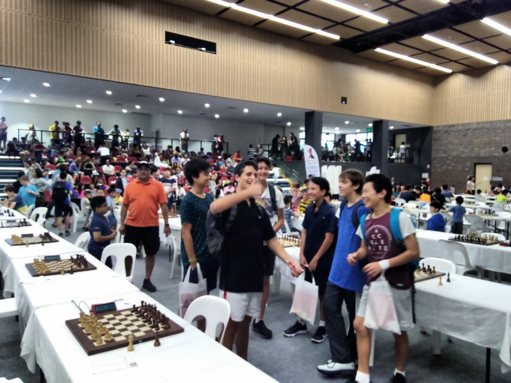 Australian Junior Chess Championships Round 1